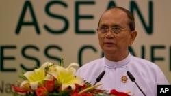Tổng thống Myanmar Thein Sein nói bộ quy tắc ứng xử vẫn còn trong nghị trình của ASEAN.