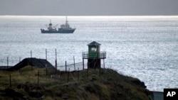 俄羅斯在和日本之間的領土爭端之千島群島建軍事基地。