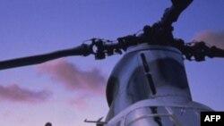 Afganistan'da NATO Helikopteri Düşürüldü