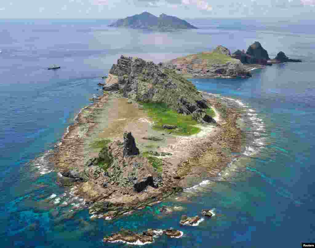 A view of Minami Kojima / Nan Xiaodao island, September 2, 2012.