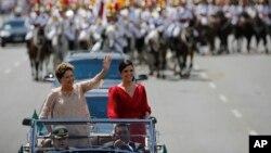 La presidenta de Brasil, Dilma Rousseff, incia hoy su segundo período al mando del gigante sudamericano.