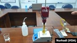 Elto bisa dipakai di berbagai sektor seperti kepolisian, perdagangan, pangan hingga industri halal. (Foto: VOA/ Nurhadi)