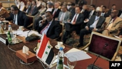 Arab Ligasi majlis qilmoqda, Qohira, 12-fevral, 2012-yil