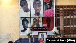 Familiares e amigos choram morte de Inocêncio Alberto de Matos, Luanda, Angola