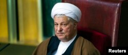 FILE - Former Iranian president Akbar Hashemi Rafsanjani attends the biannual Assembly of Experts' meeting in Tehran March 8, 2011.