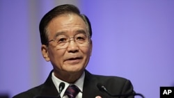 China's Premier Wen Jiabao (file photo)