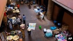 un marché à Ouagadougou, Byrkina Faso