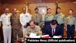 جہازوں کی خریدار کے معاہدے پر جمعے کو دستخط کیے گئے۔