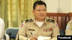 FILE: Ouk Kosal, head of Kampong Thom's police department, is allegedly accused of molesting female police officers.
