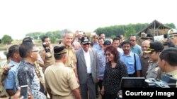 Menteri Kelautan dan Perikanan Susi Pudjiastuti bertemu nelayan di Jepara, Jawa Tengah (5/9). (Dok. Kementerian Kelautan dan Perikanan)