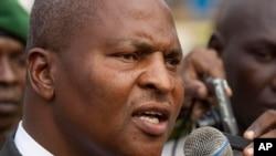 Faustin-Archange Touadéra, l'un des deux candidats qui disputeront le second tour de l'élection présidentielle centrafricaine.