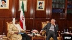 دیدار رئیس امور بشردوستانه سازمان ملل و محمد جواد ظریف