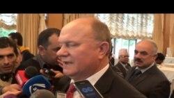 Rusiya Kommunist Partiyasının lideri Gennadi Zyuqanov Azərbaycan-Rusiya əlaqələrindən razıdır şafından razılığını
