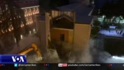 Tiranë: Interpelancë për shkatërrimin e Teatrit Kombëtar