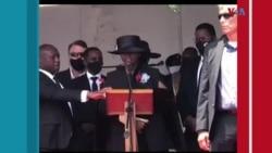 Ayiti: Prezidan Jovenel Moise, ki mouri asasinen 7 Jiyè 2021 an, antere vandredi 23 Jiyè a nan yon kominote tou pre vil Kapayisyen