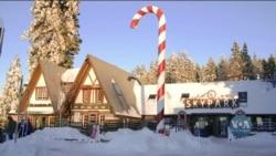 «Село Санта-Клауса» неподалік Лос-Анджелеса. Відео