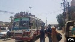 کراچی میں ٹرانسپورٹ کا مسئلہ عرصہ دراز سے ہے۔