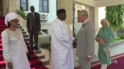 Gambie : le prince Charles rencontre le président Barrow (vidéo)