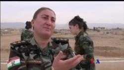 Yazidi အမ်ဳိးသမီး တုိက္ခုိက္ေရးသမားမ်ား