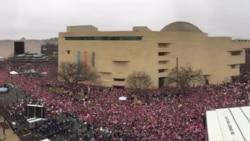 Pamje nga Marshimi i Grave në Uashington