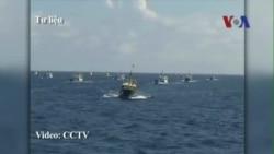 Ngư dân bị tàu TQ đâm về tới đất liền, phản bác Bắc Kinh
