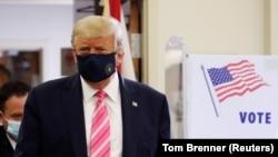 ABD Başkanı Donald Trump Florida'da oy kullandı
