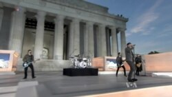 Thousands See President-Elect at Inaugural Concert