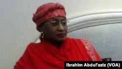 Sanata Aisha Jummai Alhassan Ministar Harkokin Mata dake goyon bayan Atiku Abubakar kan tsayawa zaben shugaban kasa a shekarar 2019
