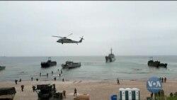 Як проходили навчання НАТО в країнах Балтії. Відео
