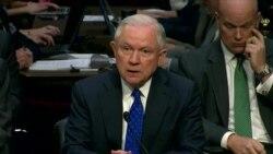 Џеф Сешнс, Генералниот обвинител на САД цел ден испрашуван во Конгресот