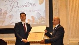 Lulzim Basha – qytetar nderi i Prishtinës
