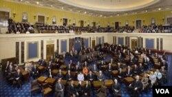 El proyecto de ley sobre energía y cambio climático está estancado en el Senado.