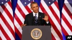 Barak Obama, Vashington, 17-yanvar, 2014