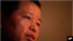 中国秘密关押的著名律师高智晟资料照