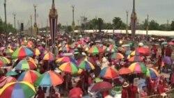 泰國紅衫軍星期六集會支持英祿政府