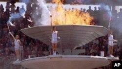 1988년 9월 17일 열린 서울 올림픽 개막식.