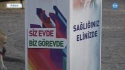 Türkiye 17 Gün Sürecek 'Tam Kapanma' Sürecine Başladı