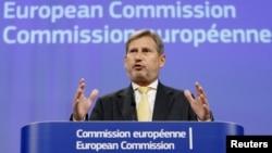 Комиссар по вопросам расширения и политики добрососедства Йоханнес Хан