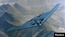 美國B-2遠程轟炸機。(資料圖片)