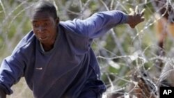 Mumwe murume wekuZimbabwe achimhanya kuyambuka muganhu zvisiri pamutemo kupinda muSouth Africa