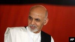 아프가니스탄의 아슈라프 가니 신임 대통령 (자료사진)