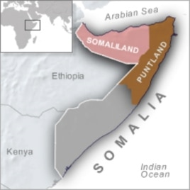 Somaliland leaders say they're inspired by secession of Southern Sudan