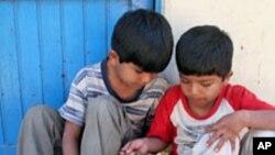 وضع نابسامان کودکان متخلف مرکز اصلاح در هلمند
