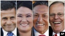 秘魯總統選舉競爭激烈。