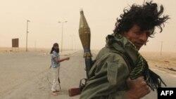 Pobunjenički borac u Libiji