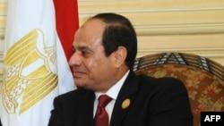 Abdel Fattah al-Sissi, president d'Egypte