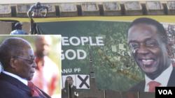 Mugabe, Mnangagwa