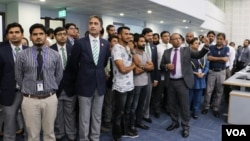 پاکستان کی قومی کرکٹ ٹیم کا سیف سٹی اتھارٹی کا دورہ ٴ 24 اگست 2017