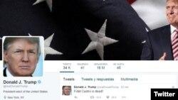 "Jika Presiden Obama menyampaikan belasungkawa atas kematian mantan Presiden Fidel Castro, Presiden terpilih Trump justru ""bergembira"" atas kematian Castro dalam cuitan di Twitter (foto: ilustrasi)."