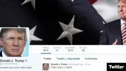 Akun Twitter asli Donald Trump (foto: ilustrasi).
